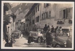 CPA  Suisse, SEMBRANCHER, Etape Sur La Route Du Gd St Bernard -  Auto Cars,  Carte Photo. - VS Valais