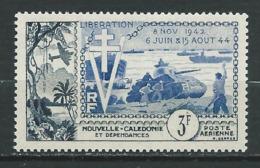 NOUVELLE-CALÉDONIE 1954 . Poste Aérienne N° 65 . Neuf ** (MNH) - Poste Aérienne