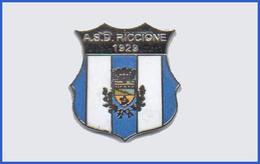 A.S.C. Riccione Rimini Calcio Distintivi FootBall Soccer Pins Spilla Italy - Calcio