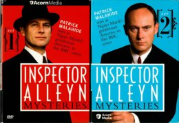 DVD Series Inspector-Alleyn - DVD