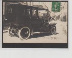 SUPERBE VOITURE   CARTE PHOTO  ROCHEFORT CIRCULEE 1913 - Rochefort