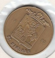 100 WAASLANDERS 1980 St NIKLAAS - Gemeentepenningen