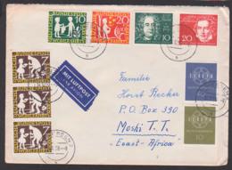 Ludwig Van Beethoven, Aus Block Beethoven-Halle In Bonn Auslands-Lp-Brief Nach East Africa, G.F. Händel, Sterntaler - [7] West-Duitsland
