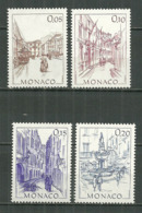 MONACO MNH ** 1404 ; 1405 ; 1406 ; 1407 Monaco D'autrefois - Unused Stamps