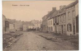 Fosses - Rue De Leige (Liège?) - Belle Carte - Fosses-la-Ville