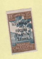 Wallis Et Futuna Taxe N° 30 Neuf * - Portomarken