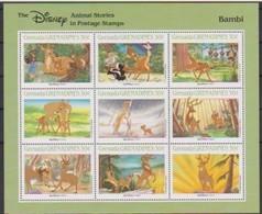2517 Walt Disney  Grenada  Grenadines  Bambi . - Grenade (1974-...)