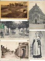 LOT DE 1000 CARTES DE FRANCE TOUTES EN PETITS FORMATS BON LOT A VOIR - Postcards