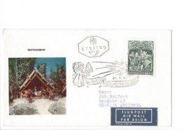 22333 - Christkindl 27.11.1967 Air Mail - Noël