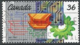 Canada. 1987 Centenary Of Engineering Institute Of Canada. 36c Used. SG 1240 - 1952-.... Reign Of Elizabeth II