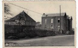 Fosses - Vitrival - Les Ecoles Et La Maison Communale -Oldtimer - Fosses-la-Ville