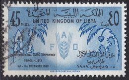 LIBYEN LIBYA [1959] MiNr 0084 ( O/used ) - Libyen