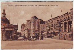 COBLENZ . KOBLENZ . RHEINPROMENADE MIT DEN HOTELS . Cachet Militaire HAUT COMMISSARIAT DE LA REPUBLIQUE FRANCAISE Dans L - Koblenz