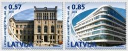 Latvia Lettland Lettonie 2019 (16) University Of Latvia - 100 Years. Architecture - Lettonie
