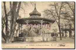 CPA Kiosque De La Musique Romans - Bâtiments & Architecture