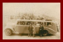 Car En Visite A Lourdes Autobus   ( Scan Recto Et Verso ) - Postkaarten