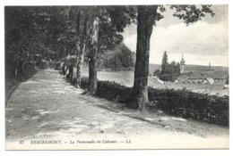Cpa 88 Remiremont - La Promenade Du Calvaire - Remiremont