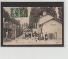 LA GARE - Pont-l'Abbé-d'Arnoult