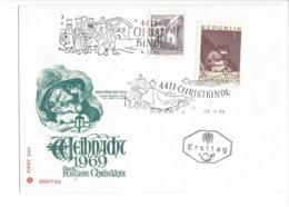 22342 - Christkindl 28.11.1969 Madonna Mit Kind - Noël