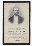 ANNOEULLIN   Souvenir Du Décès Du Docteur Arthur DELCROIX - France