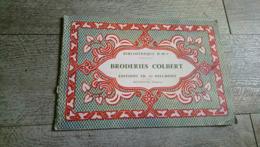 Broderies Colbert Bibliothèque DMC Dillmont Broderie Ouvrages De Dames Mode 1970 - Home Decoration
