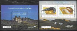 COSTA RICA, 2019, MNH,NATIONAL PARKS, CHIRRIPÓ, SNAILS, SLUGS, SHEETLET+S/SHEET - Stamps