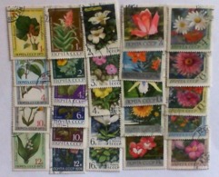 USSR 1960-77 Flovers Stamps Used - 1923-1991 USSR