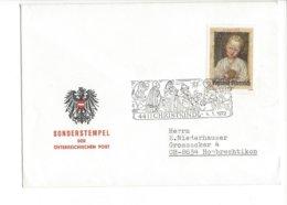 22346 - Christkindl 1971 / 04.01.1972  Sonderstempel Der Österreichischen Post - Noël