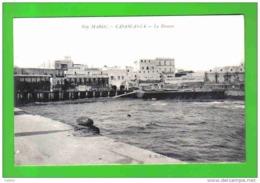Carte Postale Maroc  Casablanca  La Douane Et Eeets Molline & Dahl  Bois Et Matériaux Trés Beau Plan - Casablanca