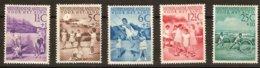 Antilles Néerlandaises Antillen 1951 Yvertn° 222-226  (*) MLH Cote 55  € Voor Het Kind - Antilles