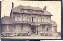 COUCY-LE-CHATEAU-AUFFRIQUE (Aisne)- Hotel De La Gare - Laon