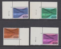 Belgie 1976 Spoorwegen / 50ste Verjaardag Van De Spoorweg 4w (bladhoek + 3w Met Drukdatum)** Mnh (44821D) - 1952-....