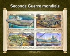 DJIBUTI - 2018 - World War II - Perf 4v Sheet - Djibouti (1977-...)