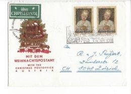 22352 - Christkindl 09.12.1971 Weihnachtpostamt Pour Zürich - Noël