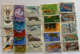USSR 1966-74 Animels Stamps Used - 1923-1991 USSR