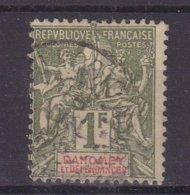 DAHOMEY : N° 15 . OBL .TB . 1901/05 . - Dahomey (1899-1944)