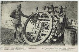 D - CPA - 60 -  LARBROYE - Affut D'Artillerie - Duitche Verwoestingen In Frankrijk - Frankrijk