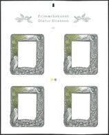 DANEMARK Carnet Timbre Art 2014 Gravé Neuf ** MNH - Ungebraucht