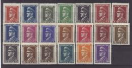 HR 1943-128-47 DEFINITIVE, CROATIA-HRVATSKA, 20v, MNH - Croatia