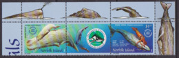 Faune, Cachalot - NORFOLK ISLAND - Jeune Cachalot, Calmar Géant - N° 755-756 ** - 2002 - Ile Norfolk