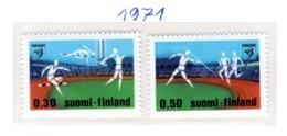 SPORT - OLYMPIC GAMES - 1971 - FINLANDIA  -  Mi. Nr. 693/694 - NH - (6532-52) - Nuovi