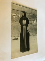 Muslim Woman Girl In Costume Innsbruck RPPC Real Photo 11352 Post Card Postkarte POSTCARD - Kostums