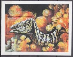 1999Comoro Islands1530/B399Fish 8,00 € - Vie Marine
