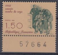 +France 1985. La Rage. Yvert 2371. MNH(**) - Ungebraucht
