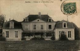 72 - Château De La Livaudière, à Fay - Frankrijk