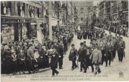 45 Orleans  Les Fetes Du 500 E Anniversaire De Jeanne D'arc 1912  Les Societes Civiles - Orleans