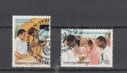 NATIONS  UNIES  VIENNE   1988    N° 83-84    OBLITERES  CATALOGUE YVERT - Centre International De Vienne