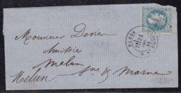 France, Paris - étoile  11, R. St Honoré Sur LSC De 1869 - 1849-1876: Classic Period