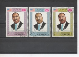YEMEN (Royaume) - Martin Luther KING - Martin Luther King