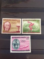 Haiti 1960 Air - Olympic Games MNH SG 712-4 Sc C163-5 Yv 203-5 Mi 631-3 - Haiti